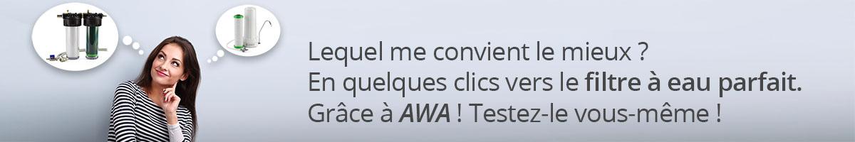 AWA Banner - FR - Kategorie: Wasserfilter