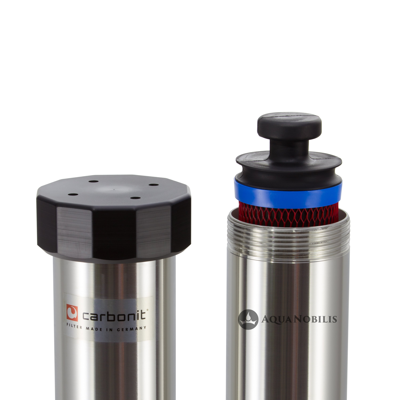 filtre eau pour la maison carbonit quadro 60 livraison gratuite. Black Bedroom Furniture Sets. Home Design Ideas