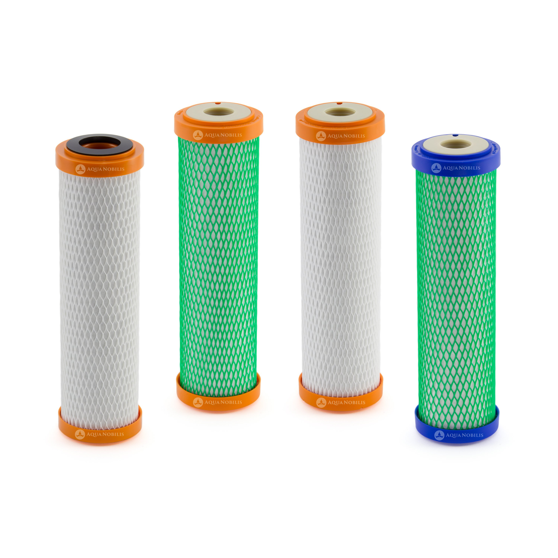 1 plus 2 Potable bouteilles Tritan BPA Libre Carbonit Monobloc Filtres 2 x Ifp Puro